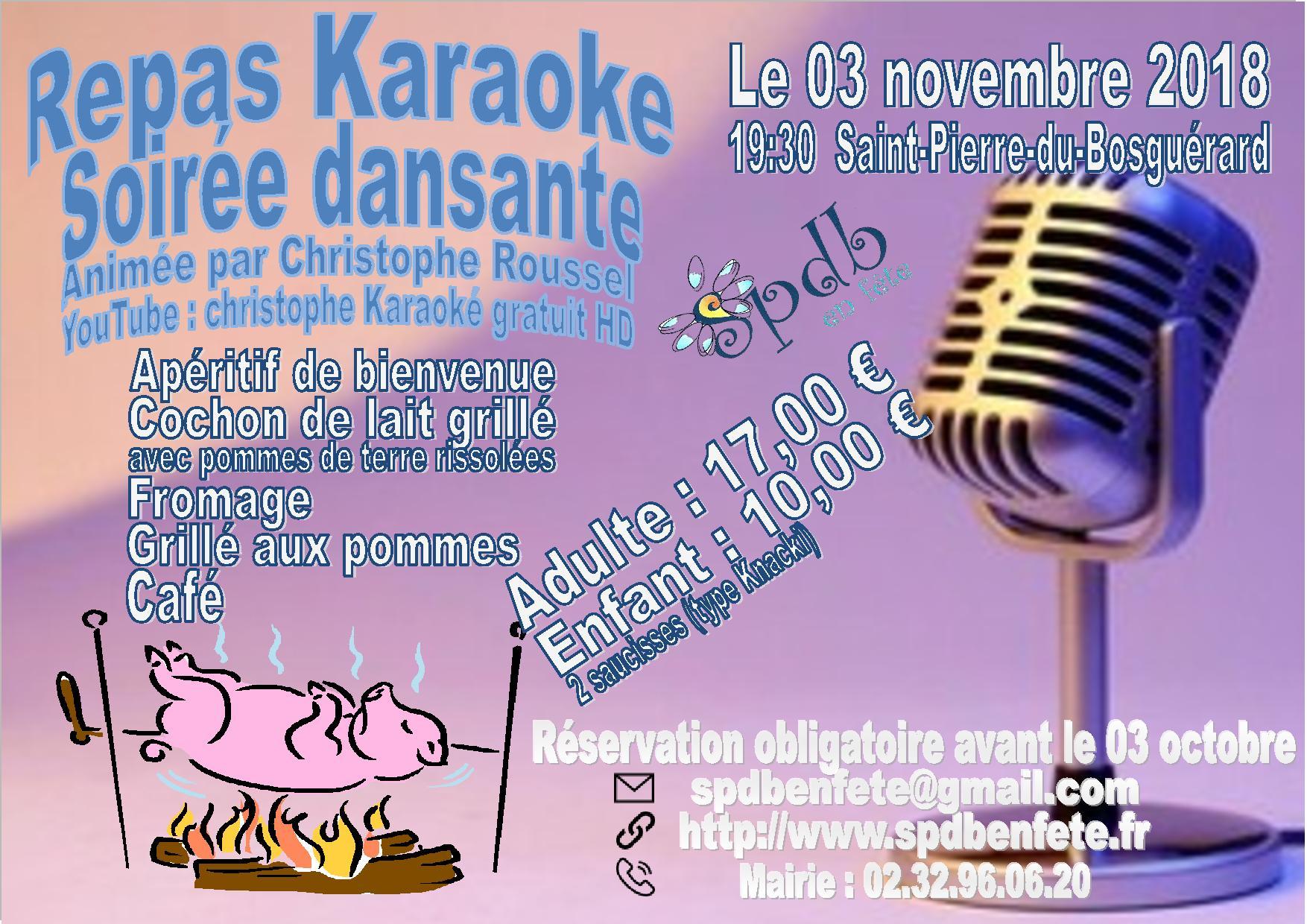 Affiche karaoke 1